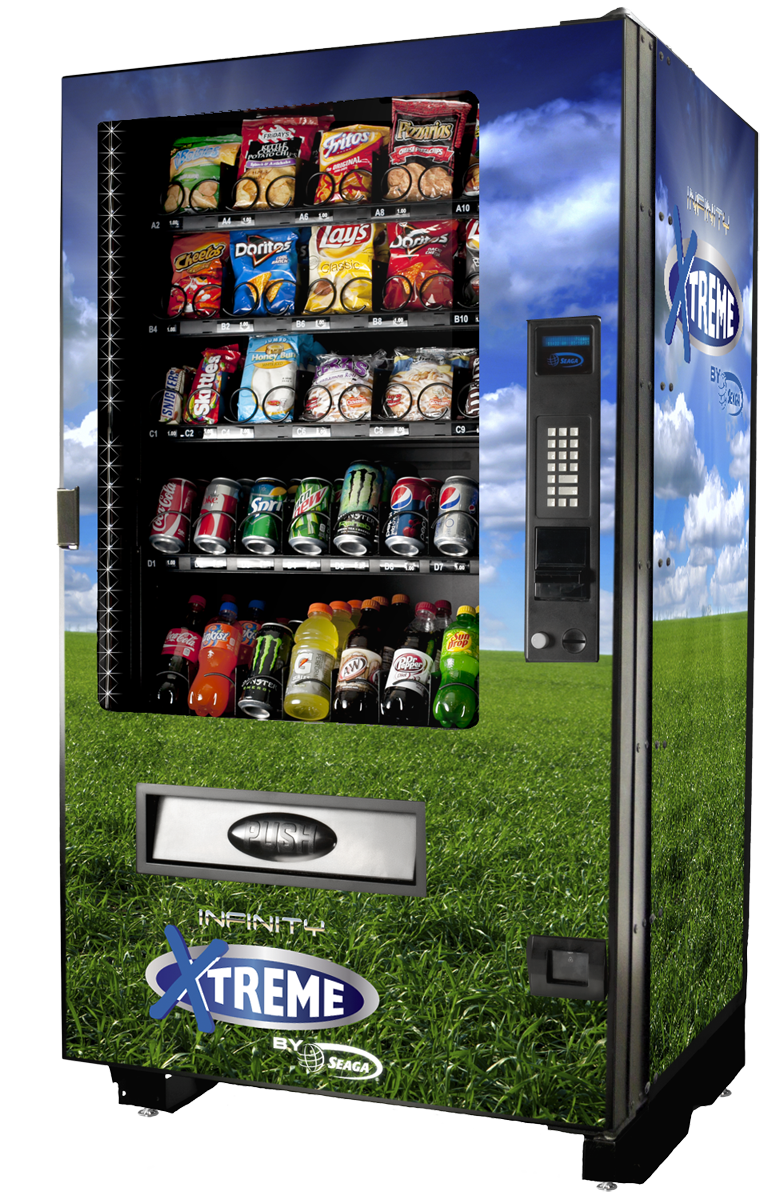 Soda & Snack Combo Vending Machines