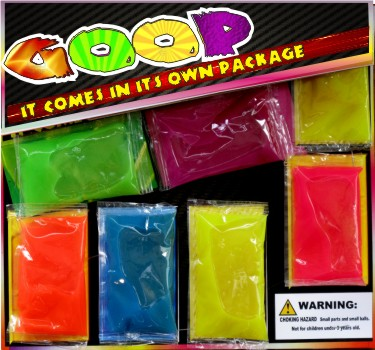 Goop Assorted Colors in 2 inch Capsules (250 ct.)