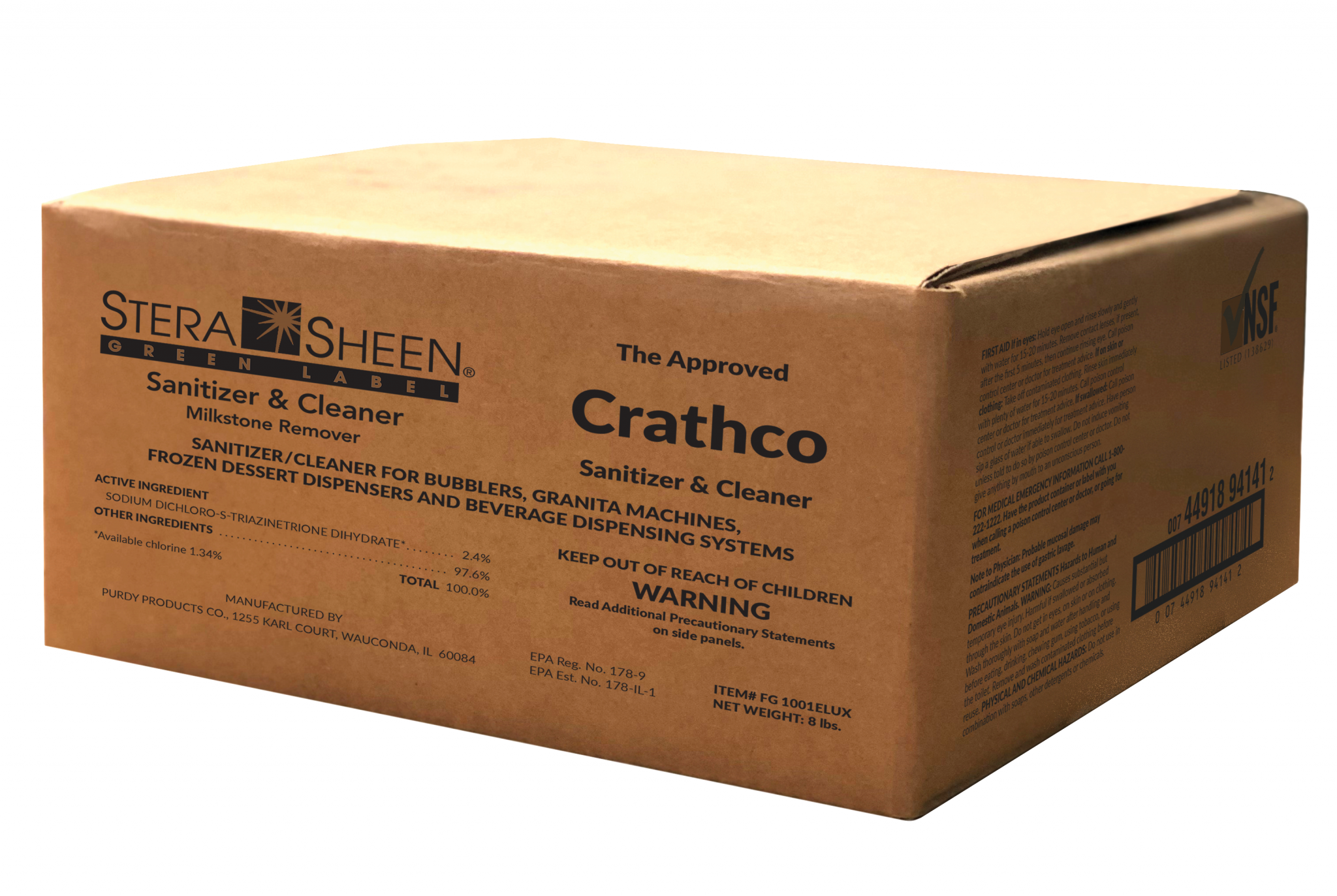 Crathco Cleaning Kit for Bubbler/Agitator Dispensers