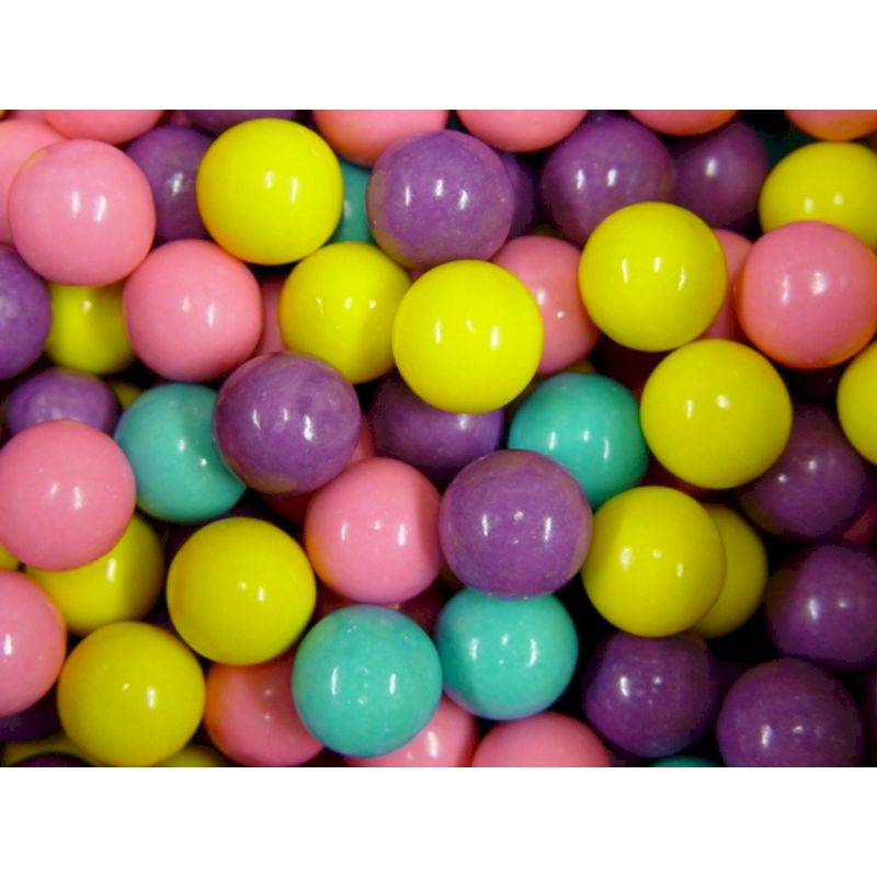 106291 - Cotton Candy 1 inch Gumballs (850 ct.)