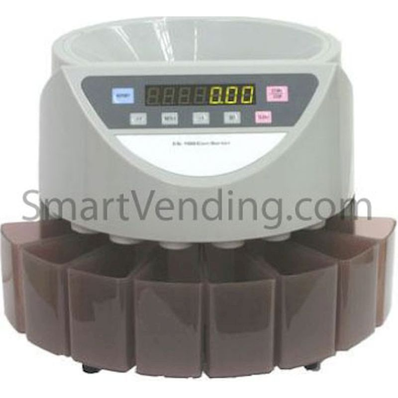 10-CS100-US - Electronic Coin Counter & Sorter FREE SHIPPING!!!