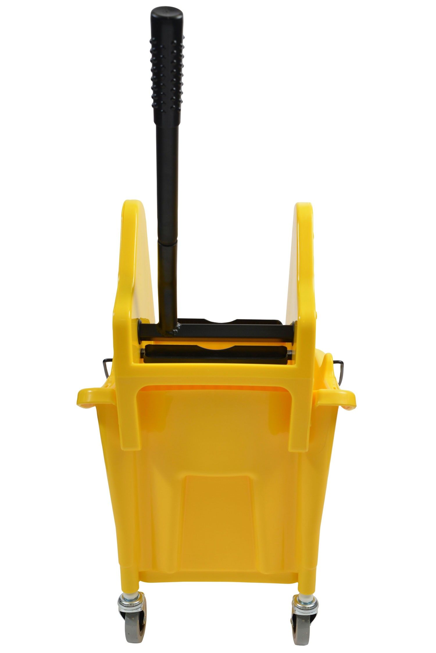 35 Qt Yellow Mop Bucket With Down Press Wringer Combo