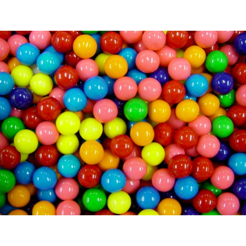 91058 Assorted 56 Gumballs 5 800 Ct Smartvending