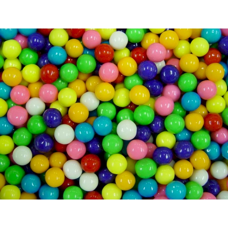1085 - Assorted 1/2 inch Gumballs (8,500 ct.)