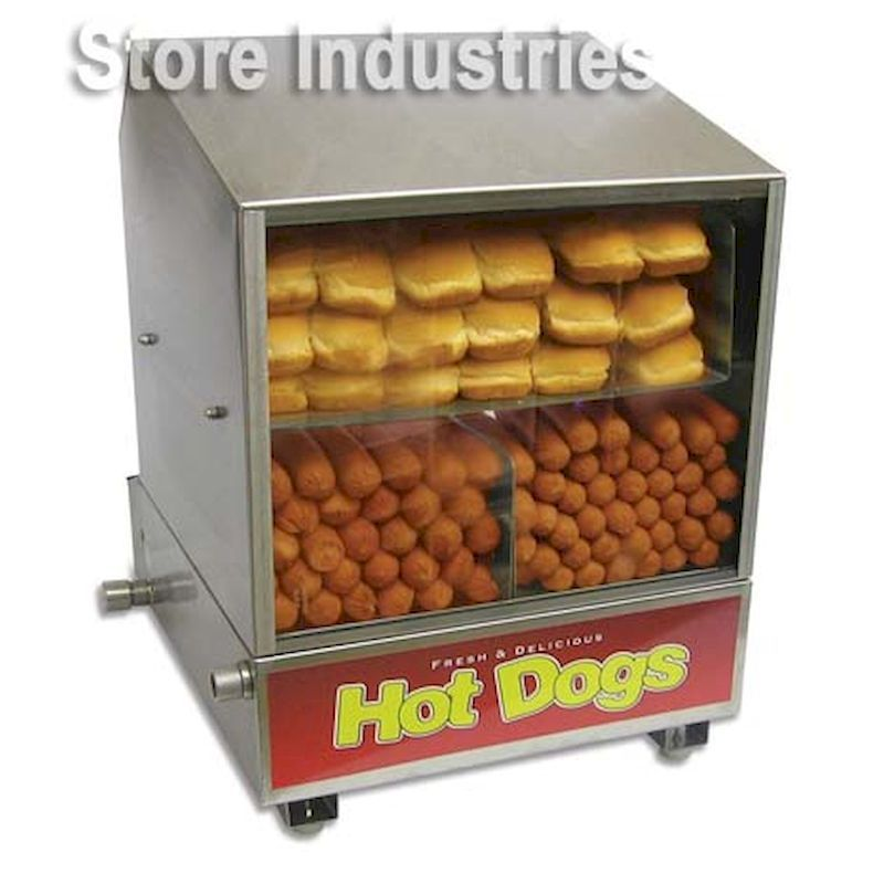 15-DPHDS - Dog Pound Hot Dog Steamer