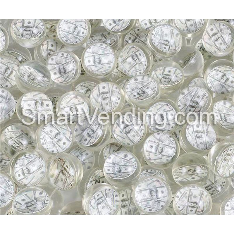 27MMMB - 27mm Money Bouncy Balls (144 ct)