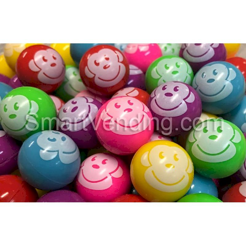 27MMF - 27mm Monkey Face Bouncy Balls (250ct)