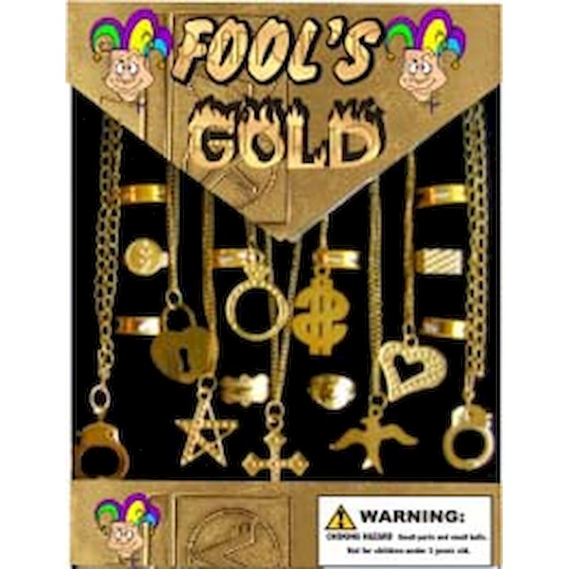 30-FOGOJEC1 - Fools Gold Jewelry Mix in 1.1 inch Capsules (250 ct.)