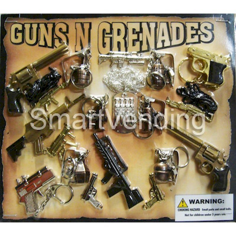 30-GNGRC2 - Guns & Grenades in 2 inch Capsules (250 ct.)