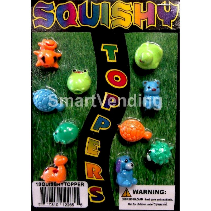 Live Display for Squishy Toppers