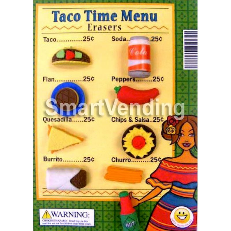 31-TATIC1 - Live Display for Taco Time Erasers