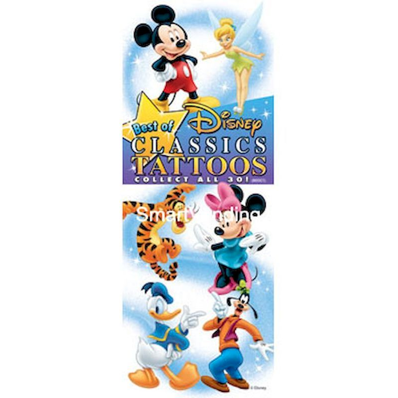 40-BODCT-D1 - Display for Best of Disney Classics Tattoos