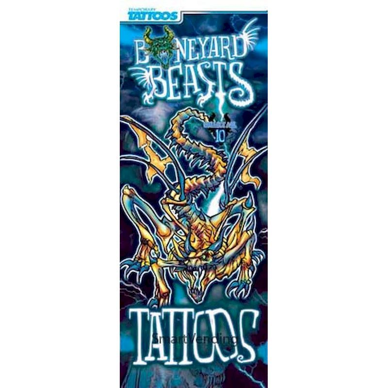 41-BYBT - Display Card for Boneyard Beasts Tattoos (2 Sided)