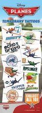 Disney Planes Tattoos in Folders (300 ct) w/ Display