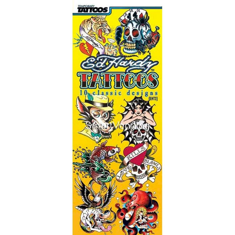 41-EHT3 - Display Card for Ed Hardy Tattoos Series #3 (2 Sided)