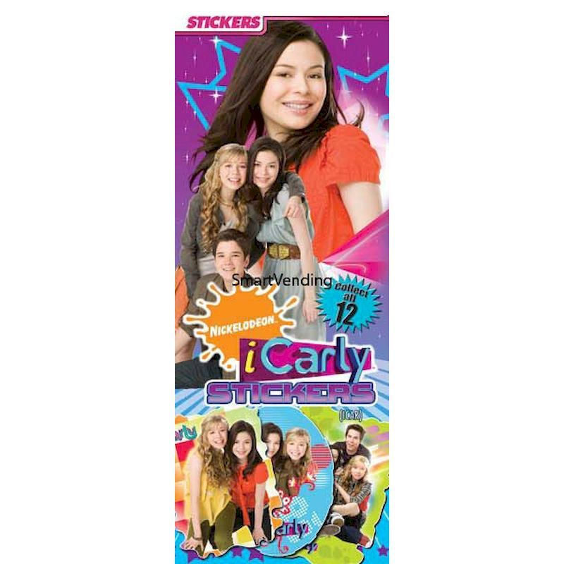 41-ICARST - Display Card for iCarly Stickers