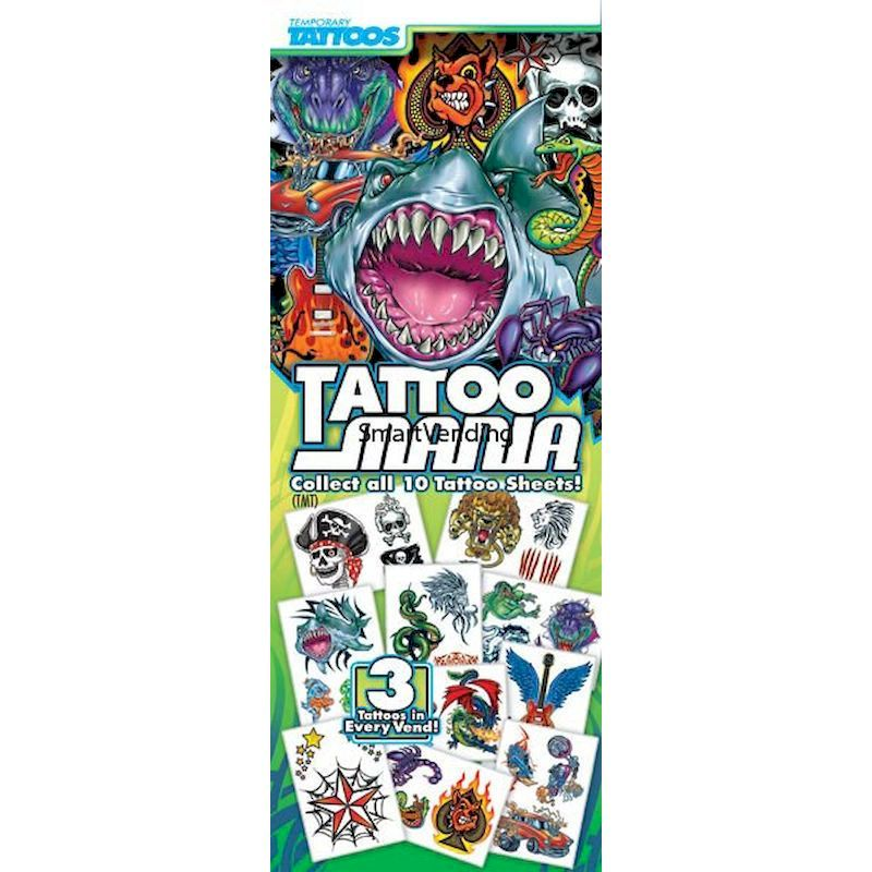 41-TMT - Display Card for Tattoo Mania Tattoos