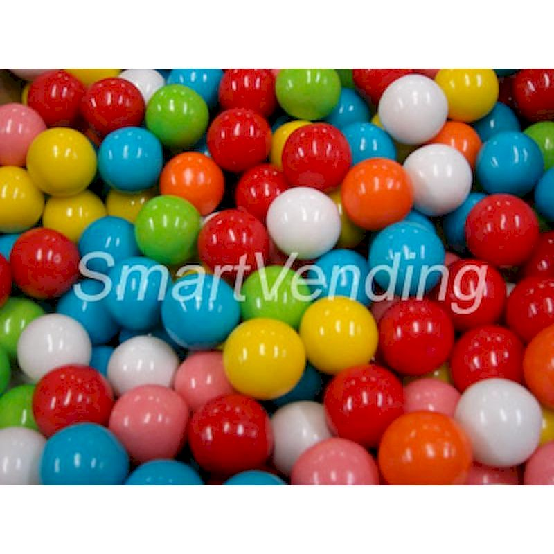 "4059 - Special Assorted Gumballs 1"" (850 ct.) 14.17 lbs. Net Wgt."