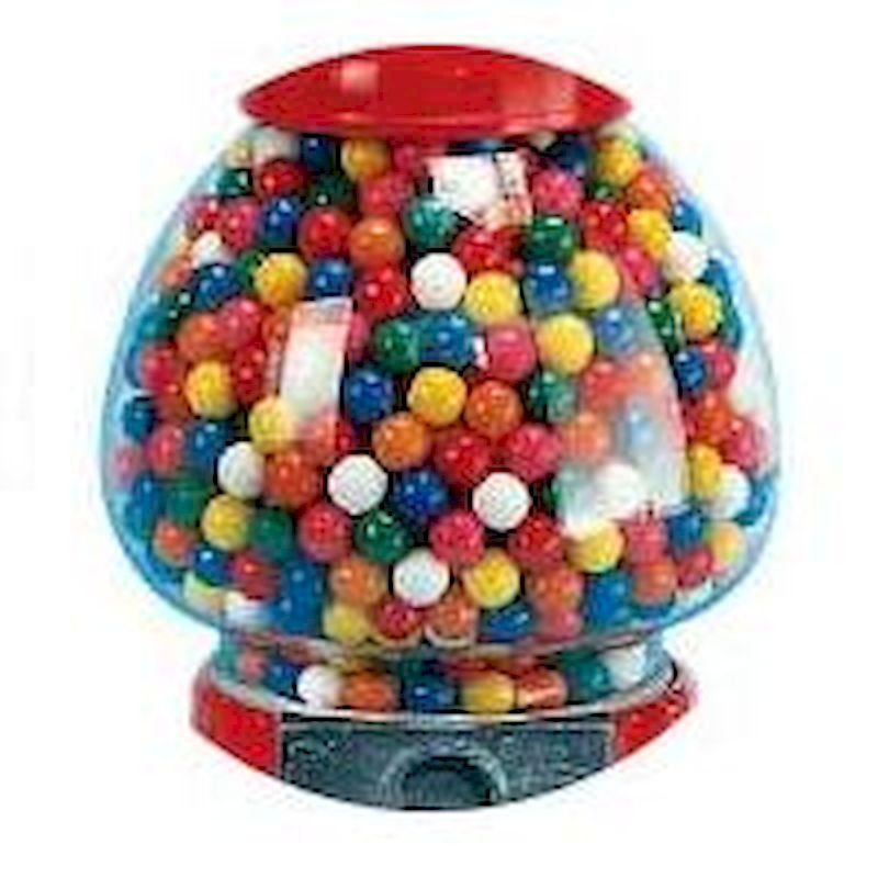 7000 - King Size Gumball MachineReplacement Glass Globe