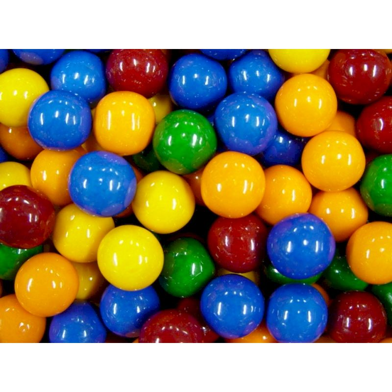 7308 - Cry Baby Guts 1'' Gumballs (Sour Filled) 850 ct.