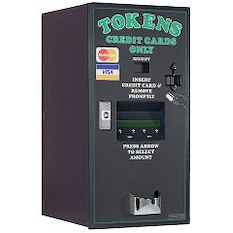 AC2006 Credit Card Token Dispenser - Front Load