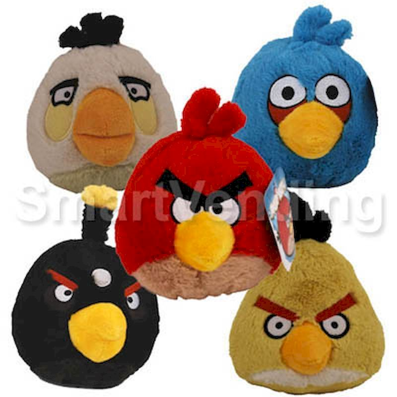 50-AGBD20-70 - Angry Birds Licensed Plush Mix 20%