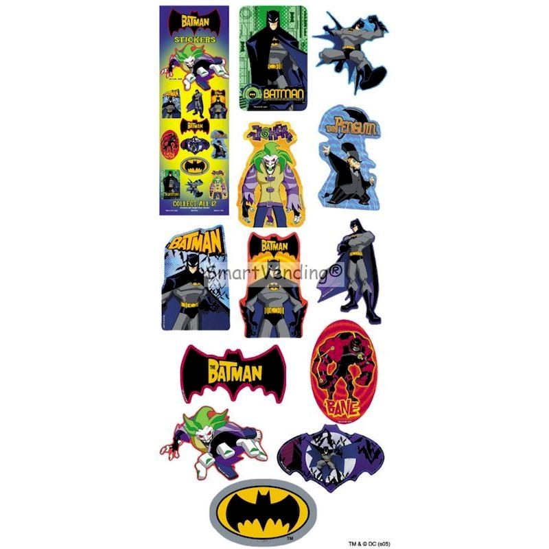 DBAMAST - Display for Batman Stickers