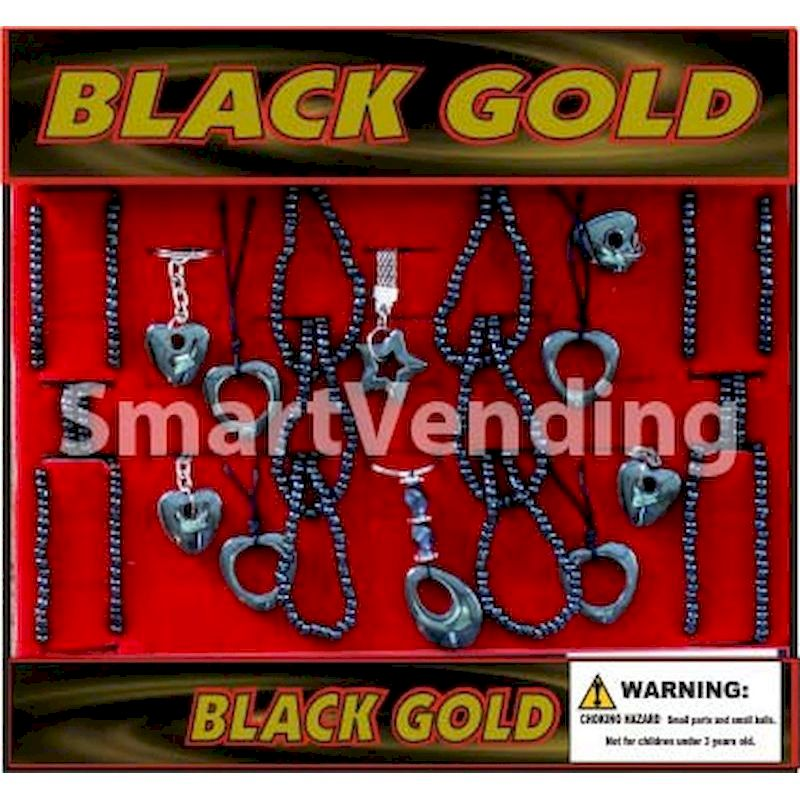 Live Display for Black Gold Jewelry