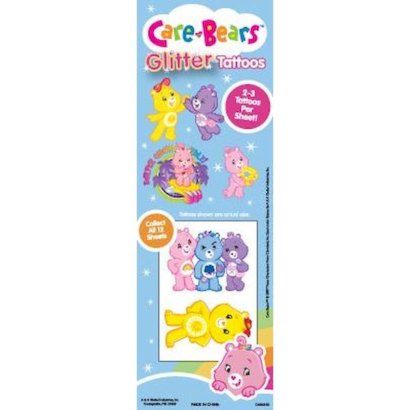 DCBGT - Display for Care Bears Glitter Tattoos