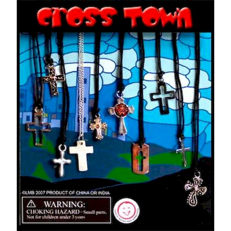 DCRTOC1 - Display for Cross Town Mini Cross Necklaces