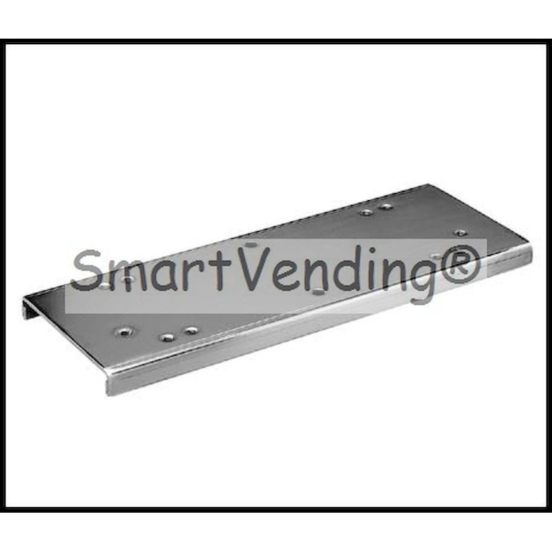 LM-2 - 2 Machine Double Bracket  - Chrome Plated Steel