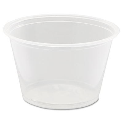 Dart 400PC Souffle' Cup 4oz Clear (2,500 ct.)