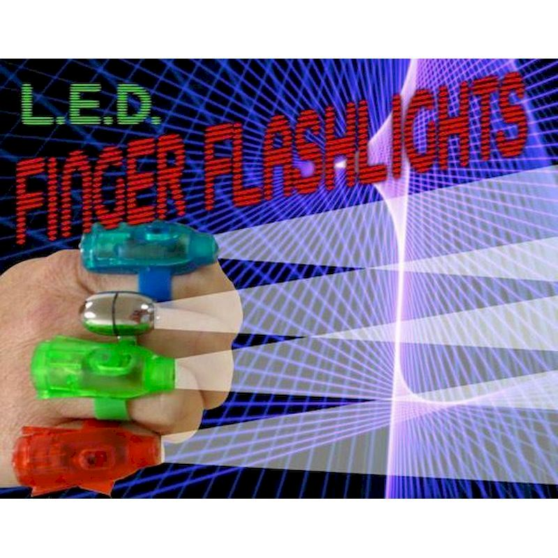 "FIFLC2 - LED Finger Flashlights in 2"" Capsules (250 ct.)"