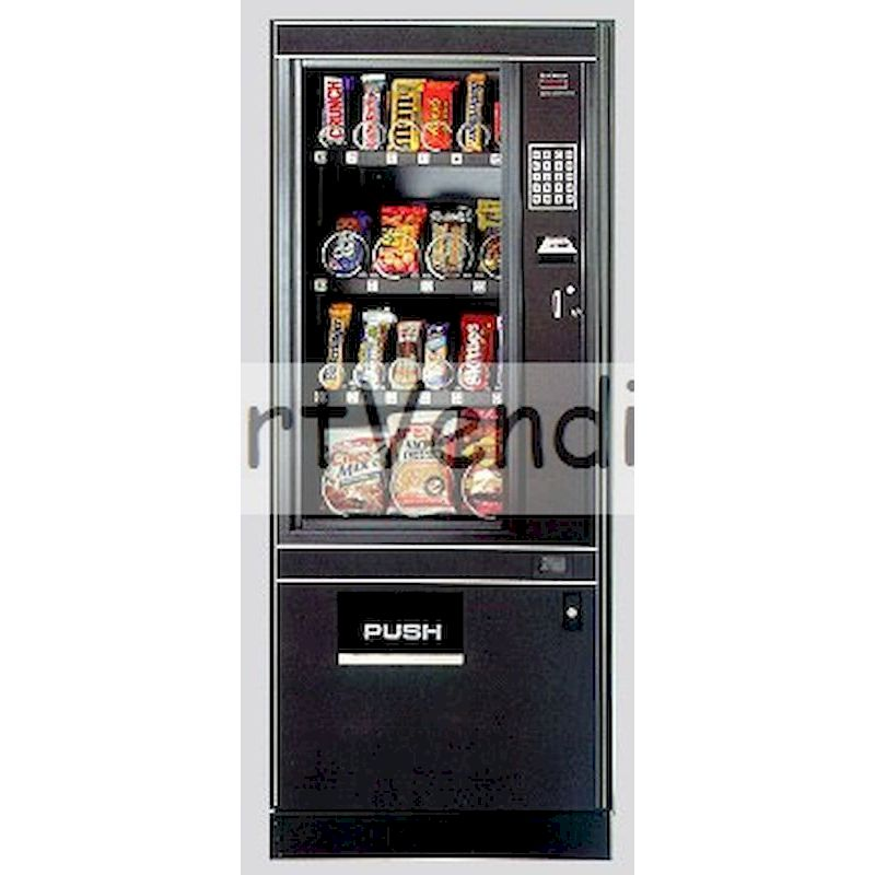 FM-1462 - Electronic Glass Front Snack Machine - 19 Selections