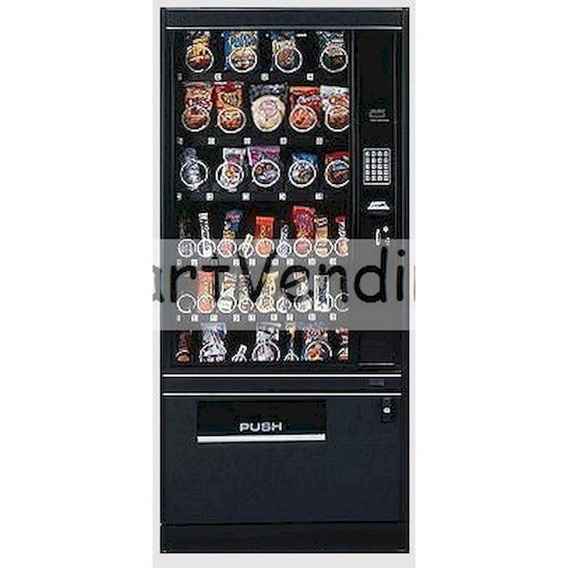 FM-7200-6 - Electronic Glass Front Snack Machine - 39 Selections