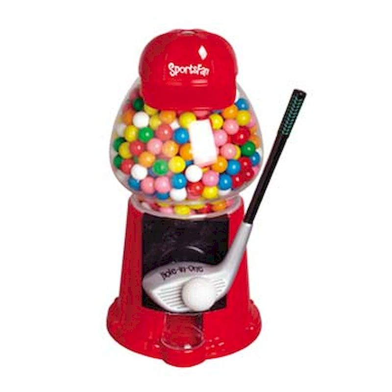SPTFAN - Sports Fan Novelty GumballBaseball - Football - Golf