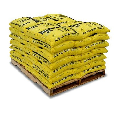 IceAway® Rock Salt Ice Melt 50 lb. Bags 49100
