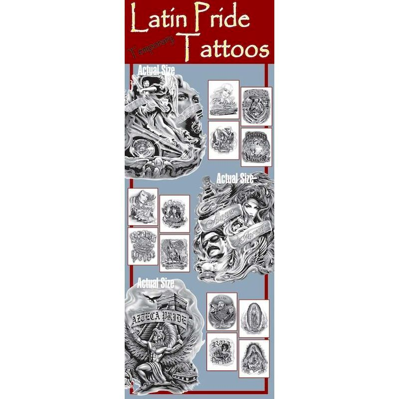 DLPTA - Display for Latin Pride Tattoos