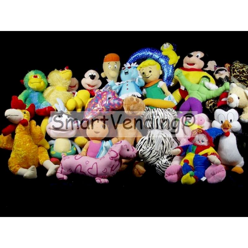 PLLICJ12-19B - Crane 50% Licensed Jumbo Mix Plush (12-19'') Avg. $3.05 Ea.