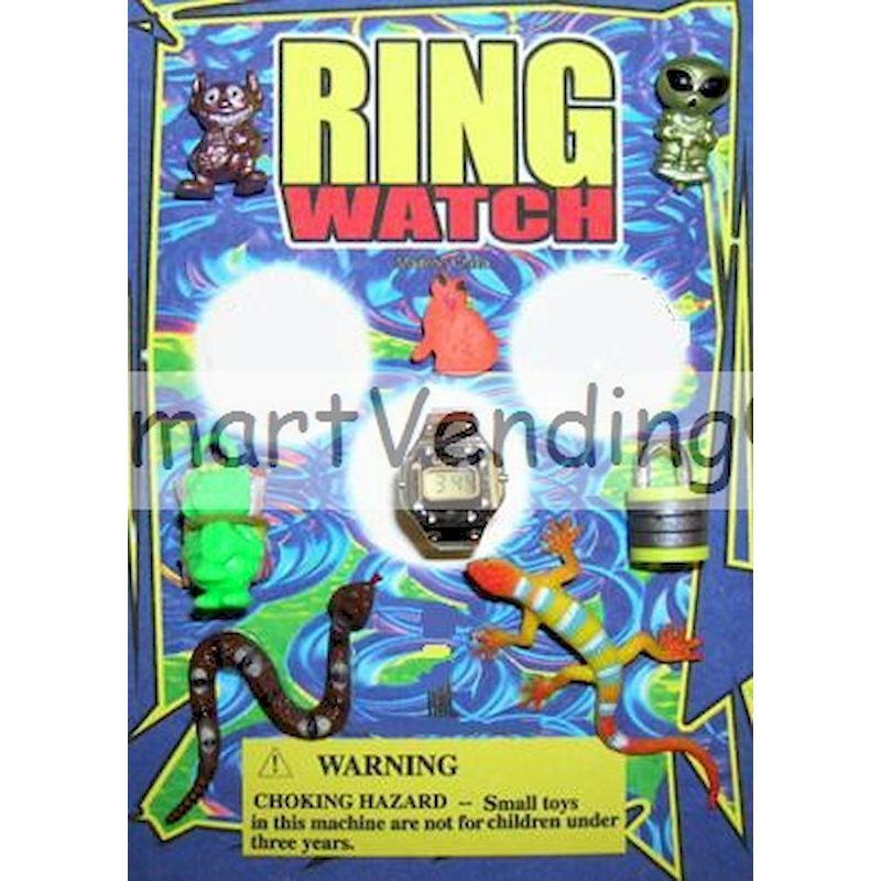 DRIWAC1 - Display for Ring Watch & Toy Mix