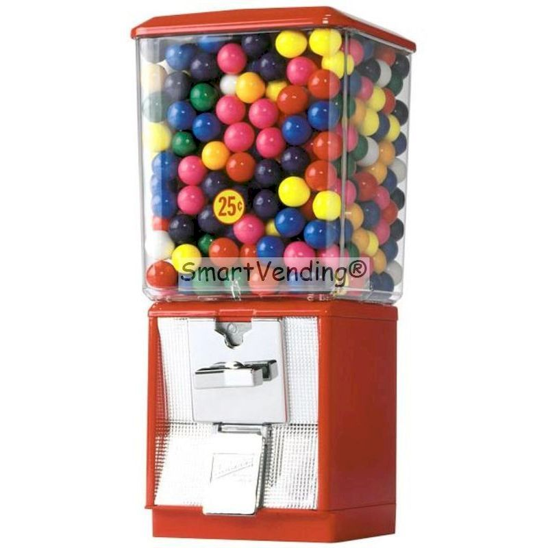 Northwestern Super 60 Candy and  Gumball Vending Machine