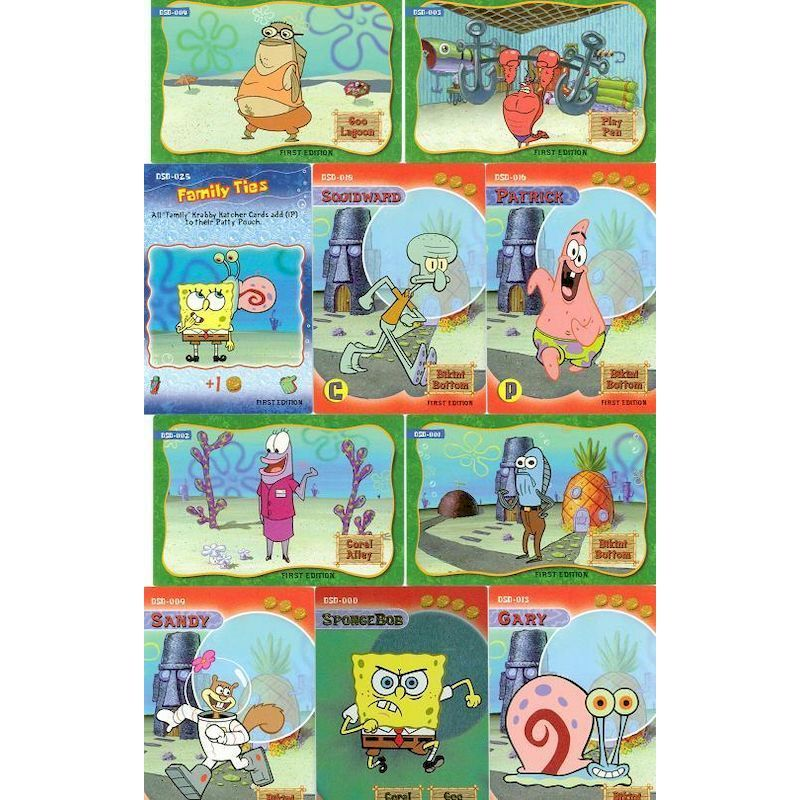 DSBTC - Display for SpongeBob Trading Cards
