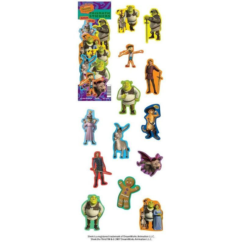 DSHST3 - Display for Shrek the Third Prism Stickers