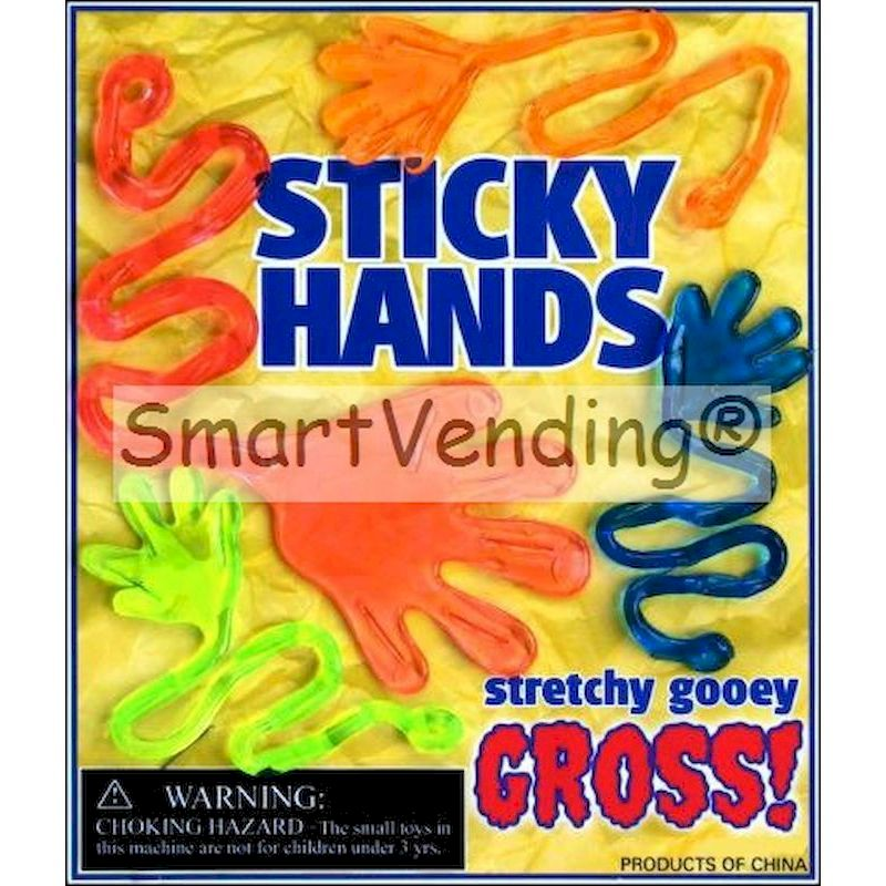 STHAC1 - Sticky Hands Larger Mix in 1.1'' & 1.3'' Capsules (250 ct.)