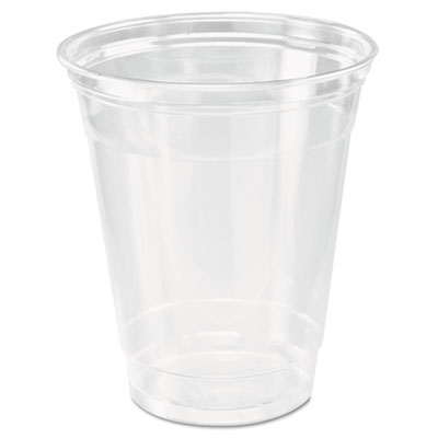Dart TP12 Ultra Clear Practical Fill Cup PET 12 oz 1000/carton