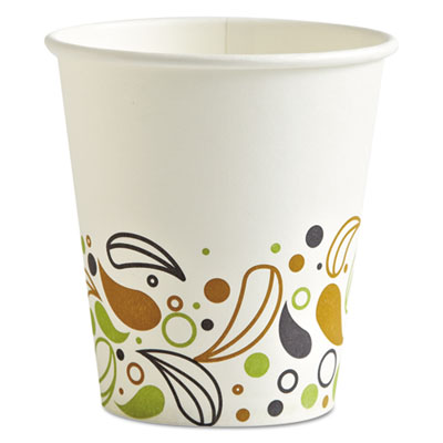 Boardwalk Deerfield Printed Paper Hot Cups 10 oz 1000/Carton