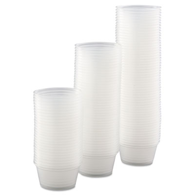 Dart 200PC - 2 oz Clear Complements Portion Cups - 2500/carton