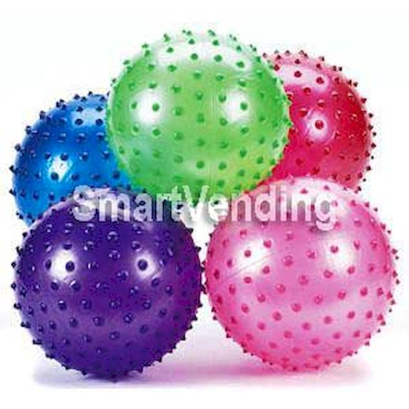 Knobby Balls 5 inch Assorted Colors (Uninflated) 250 ct. FREE SHIPPING!
