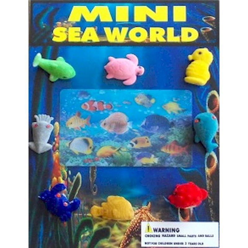 30-MSWC1 - Mini Sea World Figures in 1.1 inch Capsules (250 ct.)