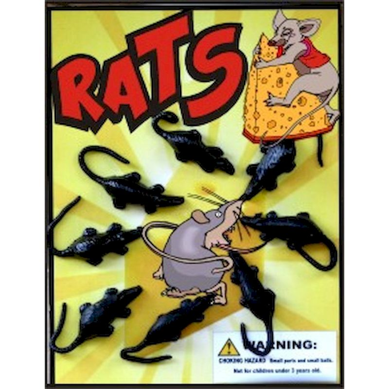 30-RATC1 - Rats in 1.1 inch Capsules (250 ct.)